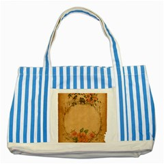 Background 1365750 1920 Striped Blue Tote Bag