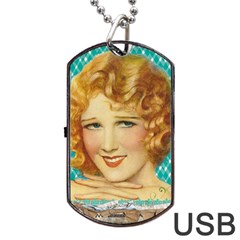 Vintage 1353217 1920 Dog Tag Usb Flash (two Sides) by vintage2030