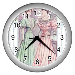 Vintage 1331476 1920 Wall Clock (silver) by vintage2030