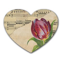 Tulip 1229027 1920 Heart Mousepads by vintage2030