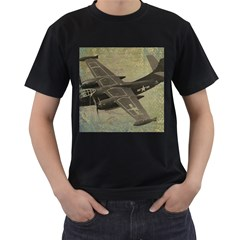 War 1326244 1920 Men s T-shirt (black) (two Sided) by vintage2030