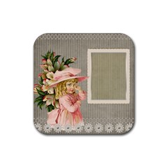 Background 1229025 1920 Rubber Square Coaster (4 Pack)  by vintage2030