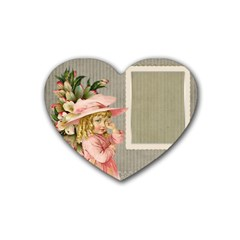 Background 1229025 1920 Heart Coaster (4 Pack)  by vintage2030