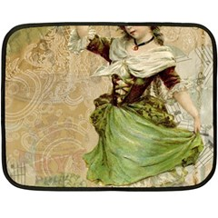 Fairy 1229005 1280 Double Sided Fleece Blanket (mini)  by vintage2030