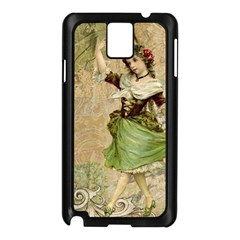 Fairy 1229005 1280 Samsung Galaxy Note 3 N9005 Case (black) by vintage2030