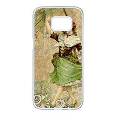 Fairy 1229005 1280 Samsung Galaxy S7 Edge White Seamless Case by vintage2030