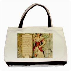 Fairy 1229010 1280 Basic Tote Bag (two Sides) by vintage2030