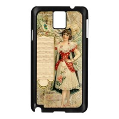 Fairy 1229010 1280 Samsung Galaxy Note 3 N9005 Case (black) by vintage2030