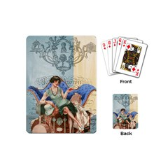 Vintage 1254696 1920 Playing Cards (mini) by vintage2030