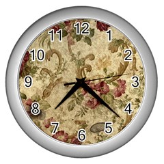 Background 1241691 1920 Wall Clock (silver) by vintage2030