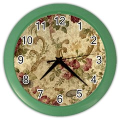 Background 1241691 1920 Color Wall Clock by vintage2030
