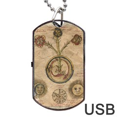 Vintage 1181681 1280 Dog Tag Usb Flash (two Sides) by vintage2030
