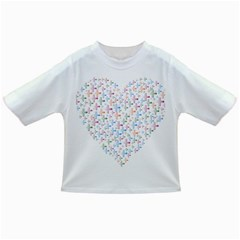 Heart Colorful Transparent Religion Infant/toddler T Shirts