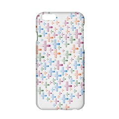 Heart Colorful Transparent Religion Apple Iphone 6/6s Hardshell Case