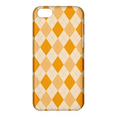 Argyle Pattern Seamless Design Apple Iphone 5c Hardshell Case by Sapixe