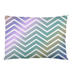 Zigzag Line Pattern Zig Zag Pillow Case by Sapixe