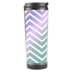 Zigzag Line Pattern Zig Zag Travel Tumbler by Sapixe