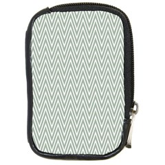 Vintage Pattern Chevron Compact Camera Leather Case by Sapixe