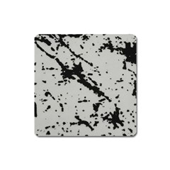 Fabric Textile Texture Macro Model Square Magnet by Sapixe
