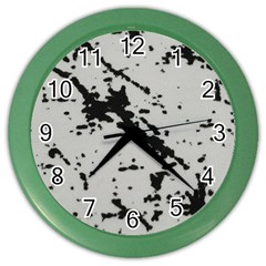 Fabric Textile Texture Macro Model Color Wall Clock by Sapixe