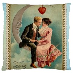 Valentine 1171222 1280 Large Flano Cushion Case (one Side) by vintage2030