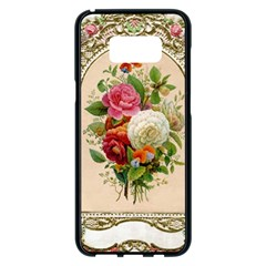 Ornate 1171143 1280 Samsung Galaxy S8 Plus Black Seamless Case by vintage2030
