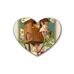 Valentine 1171220 1920 Heart Coaster (4 Pack)  by vintage2030