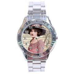Vintage 1167768 1920 Stainless Steel Analogue Watch by vintage2030