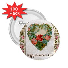 Valentines Day 1171148 1920 2 25  Buttons (100 Pack)