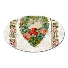 Valentines Day 1171148 1920 Oval Magnet by vintage2030