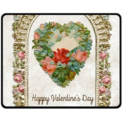 Valentines Day 1171148 1920 Double Sided Fleece Blanket (medium)  by vintage2030