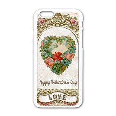 Valentines Day 1171148 1920 Apple Iphone 6/6s White Enamel Case by vintage2030