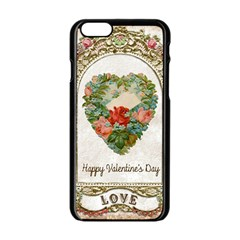 Valentines Day 1171148 1920 Apple Iphone 6/6s Black Enamel Case by vintage2030