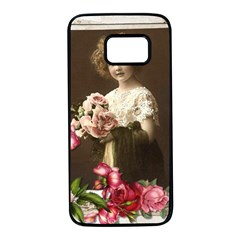 Vintage 1168517 1920 Samsung Galaxy S7 Black Seamless Case by vintage2030