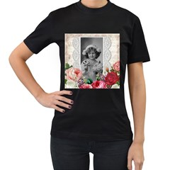 Vintage 1168516 1920 Women s T Shirt (black) (two Sided) by vintage2030