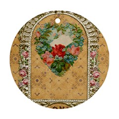 Valentine 1171144 1920 Round Ornament (two Sides) by vintage2030