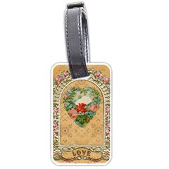 Valentine 1171144 1920 Luggage Tags (one Side)  by vintage2030