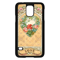 Valentine 1171144 1920 Samsung Galaxy S5 Case (black) by vintage2030