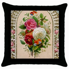 Ornate 1171145 1280 Throw Pillow Case (black) by vintage2030