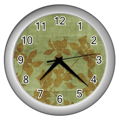 Background 1151364 1920 Wall Clock (silver) by vintage2030