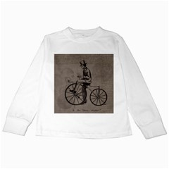 Vintage 1143342 1920 Kids Long Sleeve T Shirts by vintage2030