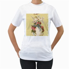 Easter 1225798 1280 Women s T Shirt (white) (two Sided)