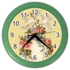 Easter 1225798 1280 Color Wall Clock
