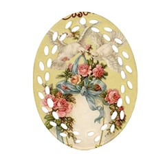 Easter 1225798 1280 Oval Filigree Ornament (two Sides)