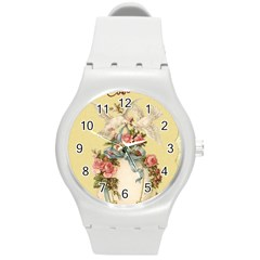 Easter 1225798 1280 Round Plastic Sport Watch (m)