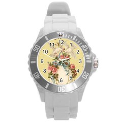 Easter 1225798 1280 Round Plastic Sport Watch (l)