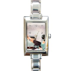 Vintage 1133810 1920 Rectangle Italian Charm Watch