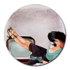 Vintage 1133810 1920 Round Mousepads
