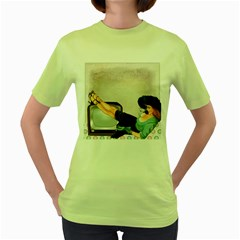 Vintage 1133810 1920 Women s Green T Shirt