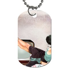 Vintage 1133810 1920 Dog Tag (two Sides)